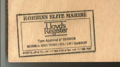 Robbins plywood