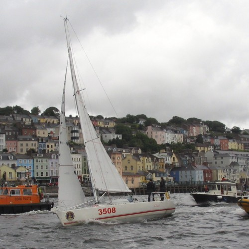 arriving at Cobh